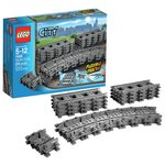 more details on LEGO City Trains Flexible Tracks - 7499.