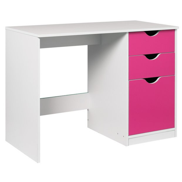 Buy home new pagnell desk pink at your online shop for children 39 s office Argos home office furniture uk
