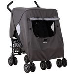 more details on Koo-di Pack-It Double Stroller Rain Cover.