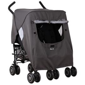 Koo-di Pack-It Double Stroller Rain Cover.
