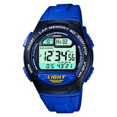 Casio 60 Lap Memory Blue Strap Watch