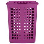 more details on ColourMatch 40 Litre Laundry Hamper - Grape.