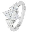 more details on Revere Platinum Plated Silver 2.70ct Look CZ Marquise Ring.