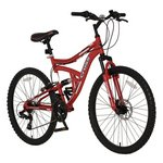 more details on Cross DXT300 Dual Suspension Mountain Bike