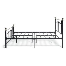 Argos Home Yani Double Metal Bed Frame - Black