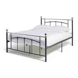 fcac224e1cf6 Argos Home Yani Double Bed Frame - Black