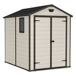 Keter Manor Apex 6x8 Plastic Shed.