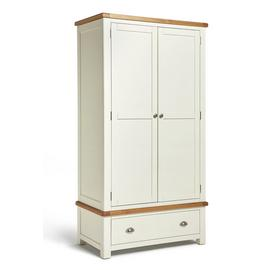 Habitat Kent 2 Door 1 Drawer Wardrobe