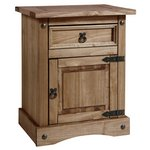 Collection Puerto Rico Bedside Chest - Dark Pine