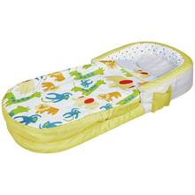 MyFirst Jungle Toddler ReadyBed - Air Bed & Sleeping Bag