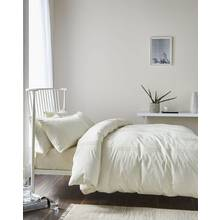 Catherine Lansfield Minimalist Cream Bedding Set - Single