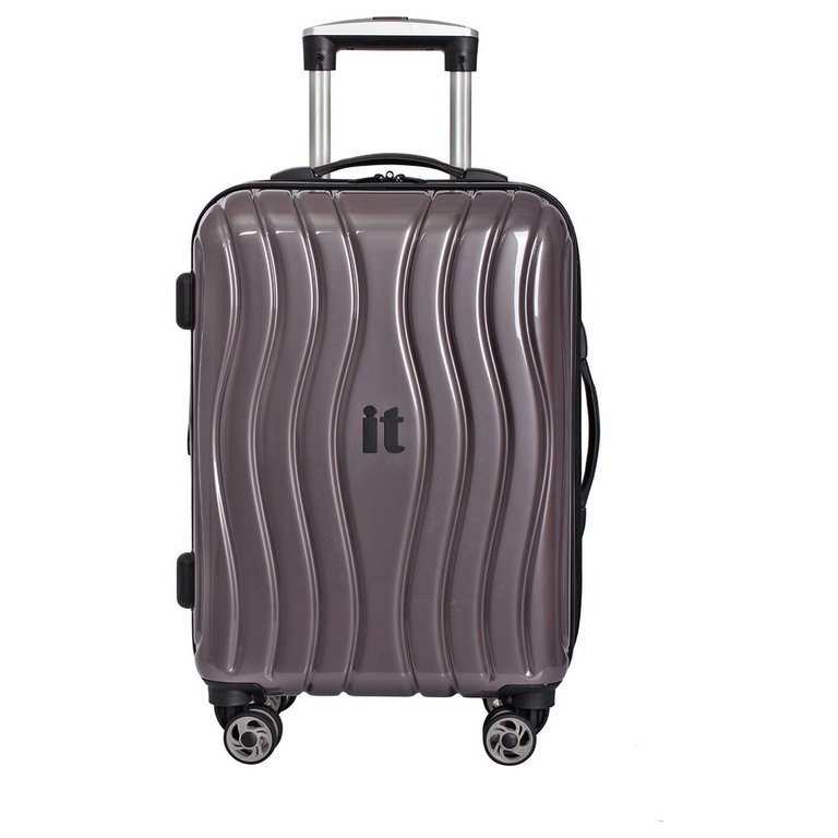 Buy IT Luggage Small Hard 8 Wheel Suitcase - Metallic at Argos.co ...