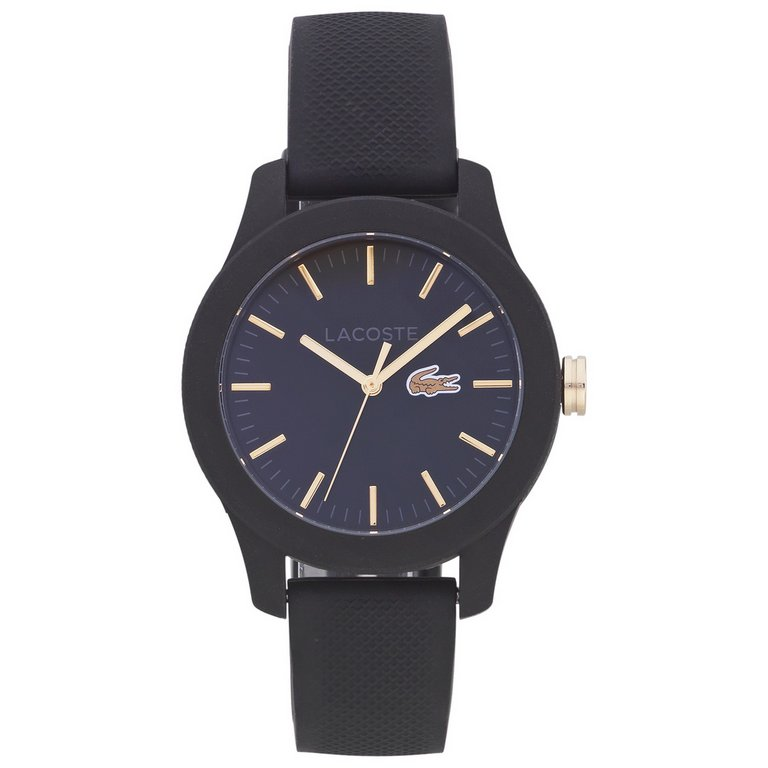 buy lacoste s 12 12 black and gold at argos co