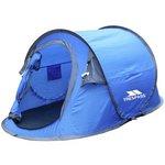 more details on Trespass 2 Man Pop Up Tent - Blue Grey.
