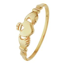 Revere 9ct Yellow Gold Claddagh Ring