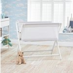 more details on Little Chick Bedside Crib - White.