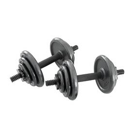 Opti Cast Iron Dumbbell Set - 20kg