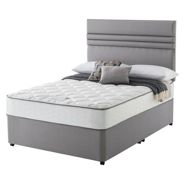 Buy Sealy 1400 Pocket Microquilt Double Divan At Your Online Shop For Divan Beds