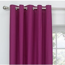 ColourMatch Blackout Eyelet Curtains - 168x183cm - Grape