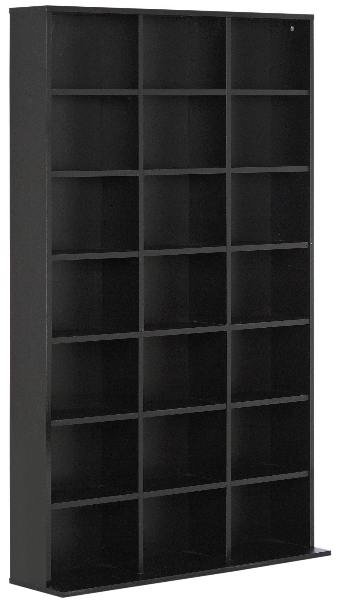 Hygena Jorvik DVD And CD Storage Unit   Gloss Black