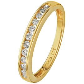 Revere 9ct Yellow Gold Diamond Channel Set Eternity Ring