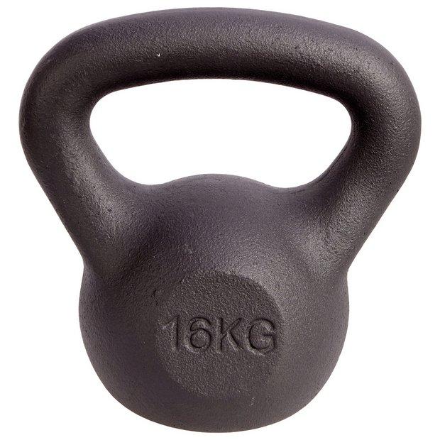 Buy Men's Health Cast Iron Kettlebell 16kg | Kettlebells | Argos