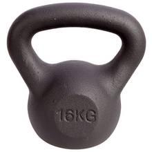 Men's Health Cast Iron Kettlebell - 16kg