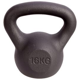 Men's Health Cast Iron Kettlebell - 16kg