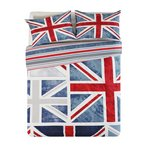 more details on HOME Union Jack Bedding Set - Double.