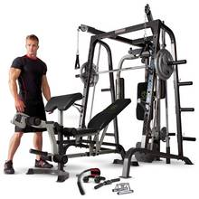Marcy MD9010G Deluxe Smith Machine Home Multi Gym