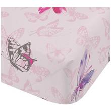 Catherine Lansfield Glamour Princess Fitted Sheet - Single.