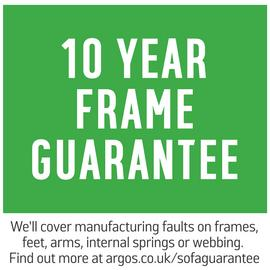 Argos Home Evie Fabric Armchair in a Box - Charcoal