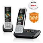 more details on Gigaset C430A Cordless Telephone with Answer Machine -Double