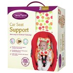 more details on Clevemama Car Seat Support with Two Harness Covers.