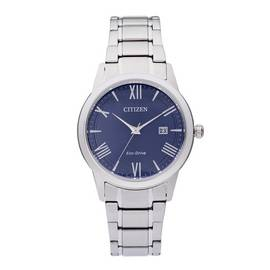 Citizen Eco-Drive Men's Silver Stainless Steel Watch