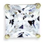 more details on Domain Gents' 9ct Square Stud Earring Boxed.