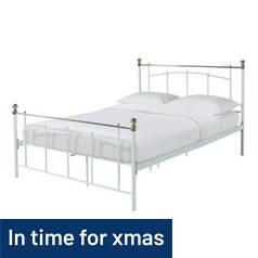 Argos Home Yani Kingsize Bed Frame - White