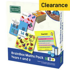 Brainbox Maths Pack - Years 1 and 2