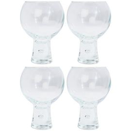 Argos Home Set of 4 Chunky Bubble Large Wine Glasses