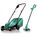 more details on Bosch Rotak Corded Mower and Trimmer Twin Pack.