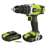 Guild 2 Battery Brushless Hammer Drill – 18v.