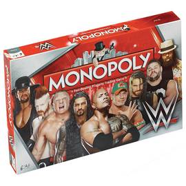 WWE Monopoly Board Game