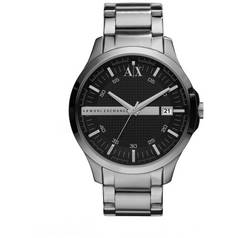 dcea03689f9 Armani Exchange Men s Silver Stainless Steel Watch