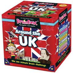Brainbox Around the UK Card Game