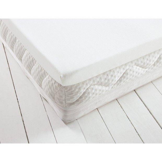 buy heart of house 7cm memory foam mattress topper. Black Bedroom Furniture Sets. Home Design Ideas
