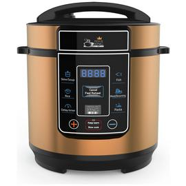 Pressure King Pro 8-in-1 3L Digital Pressure Cooker - Copper