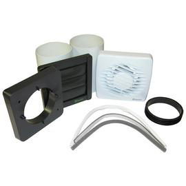 Xpelair DX100T Timer Fan with Wall Fixing Kit