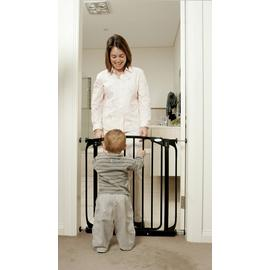 Dreambaby Chelsea Auto-Close Black Gate (71-80cm)