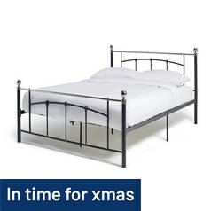 Argos Home Yani Kingsize Bed Frame - Black