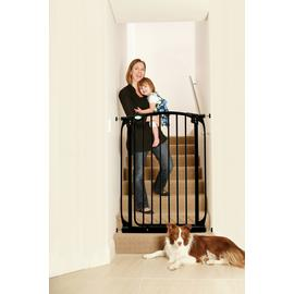 Dreambaby Chelsea Tall Auto-Close Black Gate (71-80cm)